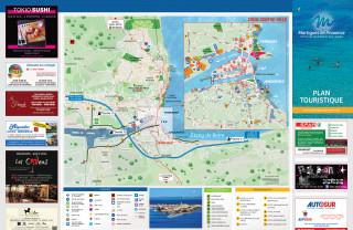 Plan de ville touristique