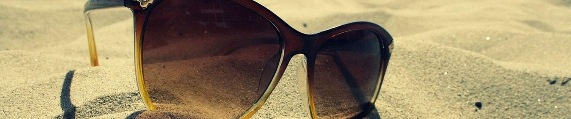Plage de la Couronne - sable blanc - Lunette de Soleil - Martigues