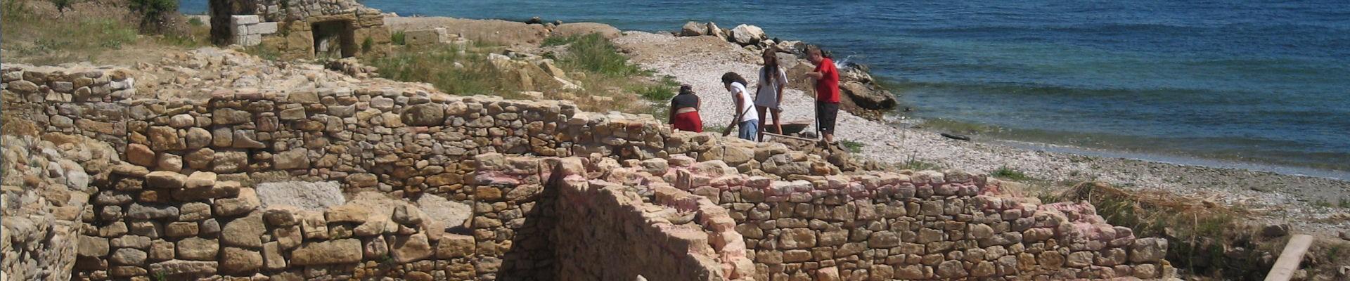 site archéologique de tholon - Etang de Berre - martigues