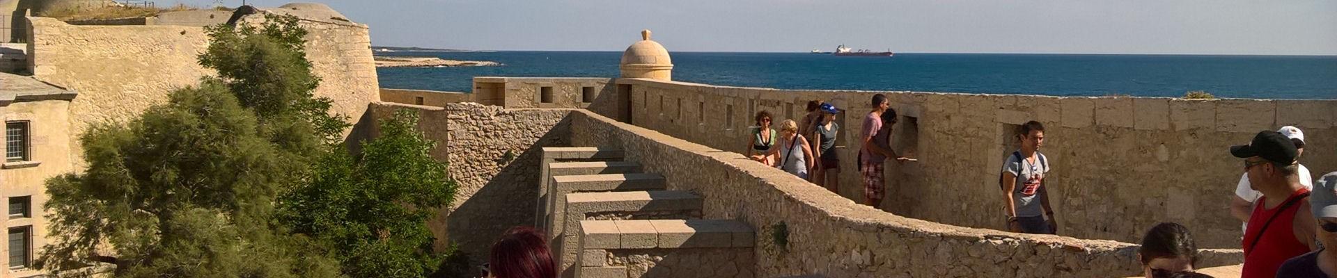 Visite du Fort de Bouc - Martigues