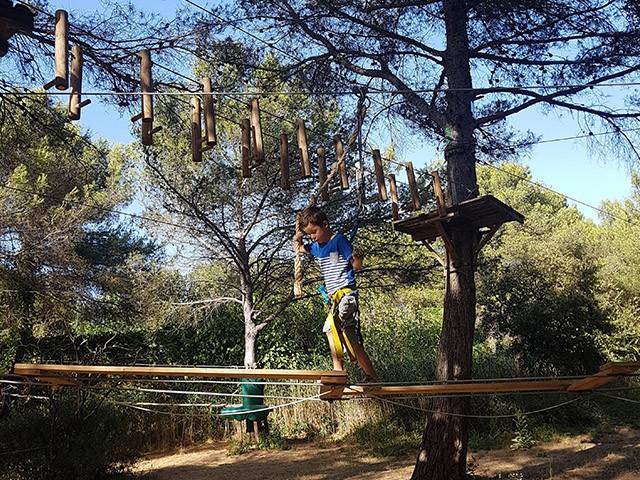 Accrobranche au Grand Parc de Figuerolles