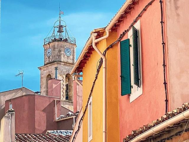 Discovering the city center of Martigues
