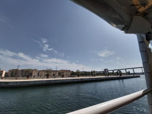 La navette maritime sur les canaux de Martigues