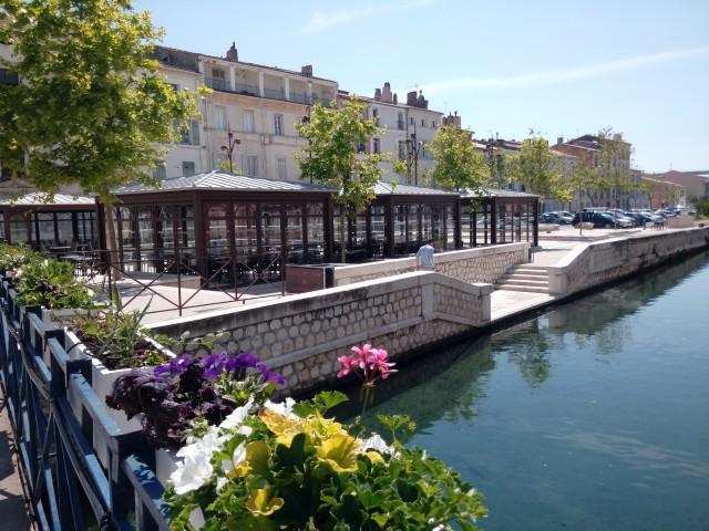 Place de la libération Martigues