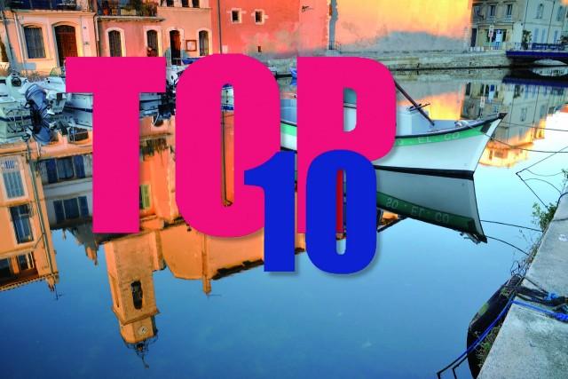 top 10 des visites - Martigues