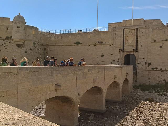Visite du Fort de Bouc
