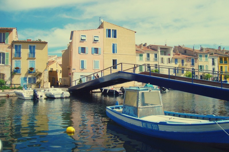 To visit Martigues