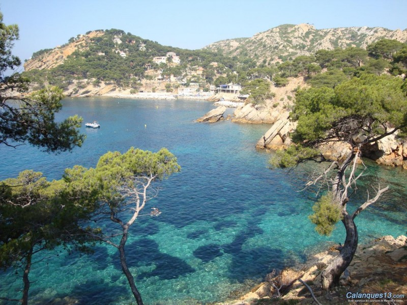Das Küstengebiet der Côte Bleue