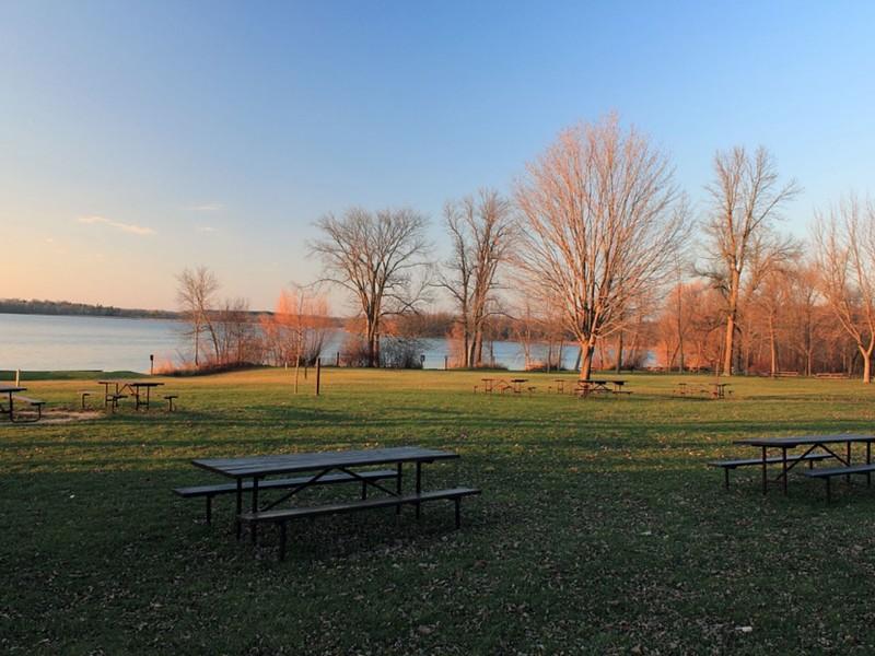 áreas de picnic