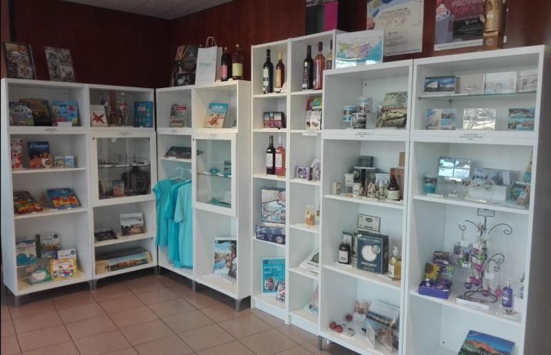 The whole shop