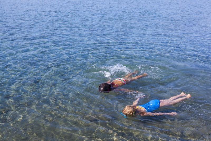 Nadando en la Côte Bleue