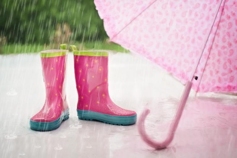 Was tun, wenn es regnet?