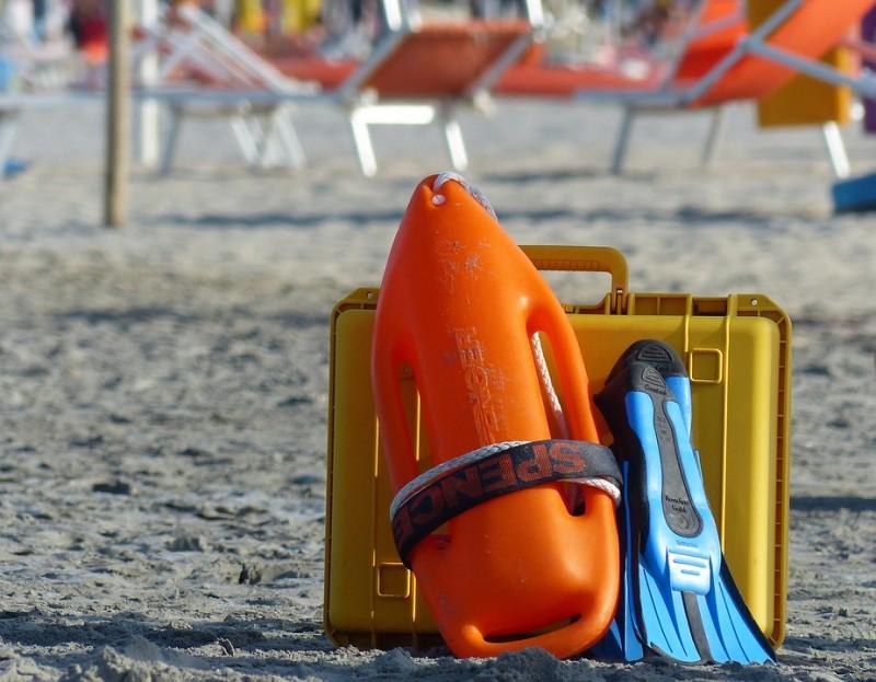 Sicherheit am Strand