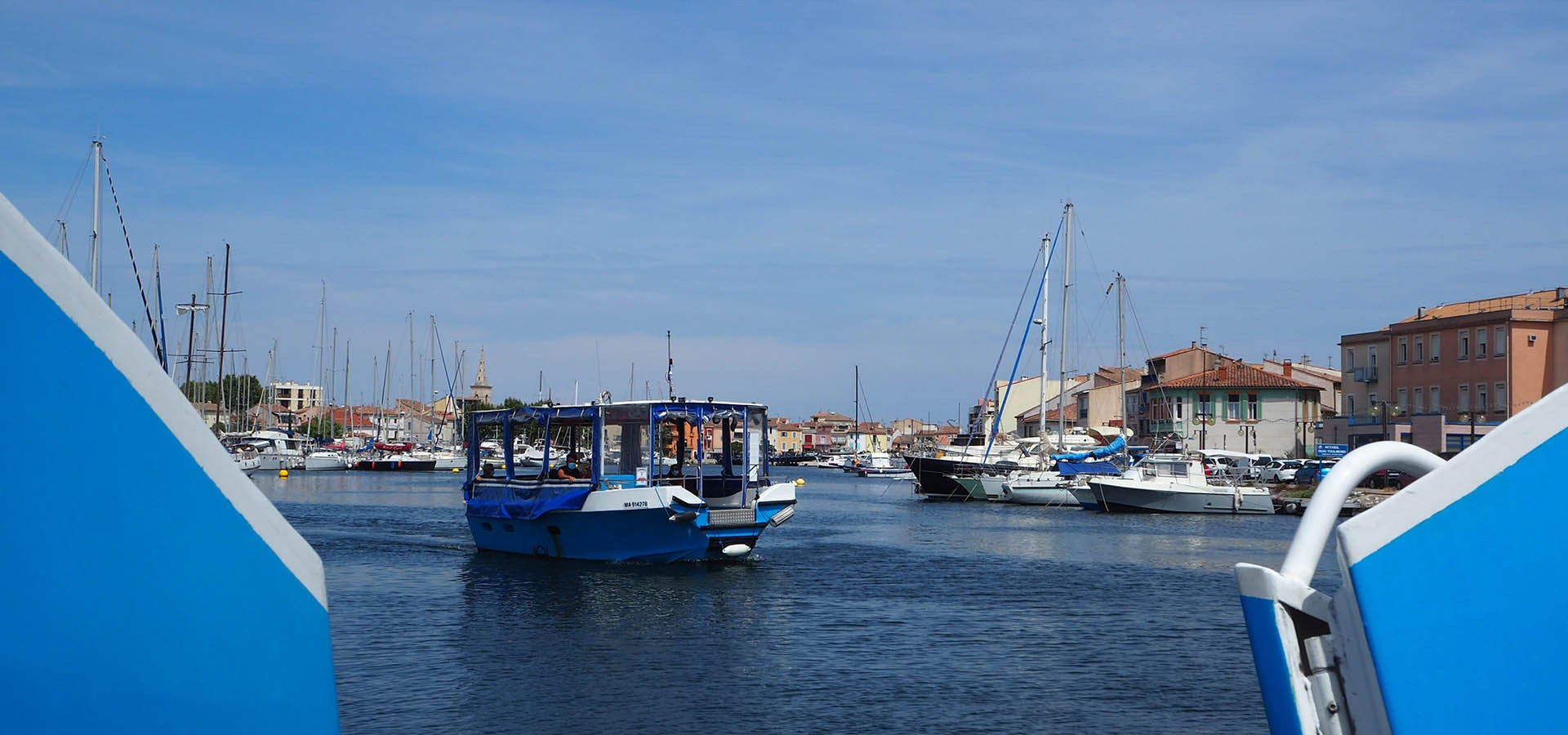 Activities offered by the Martigues Tourist Office