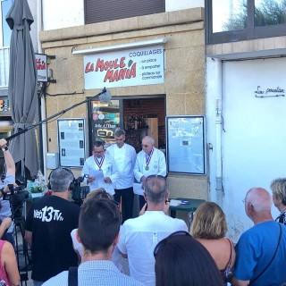 Intronisation par l'Académie Nationale de Cuisine du chef Éric Roussel