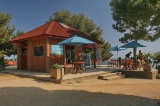 The scenery of Camping Paradis
