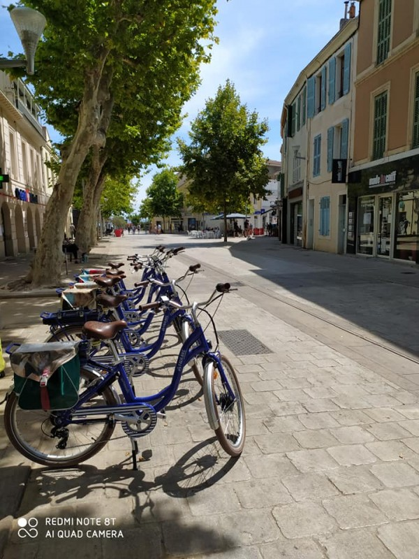 Balades à vélo en centre-ville de Martigues
