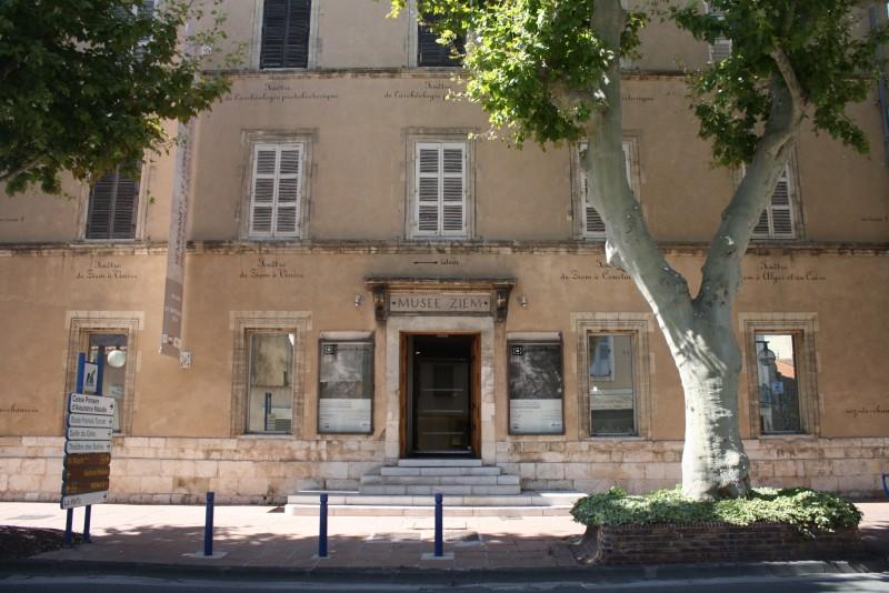 Exposition au Musée Ziem à Martigues