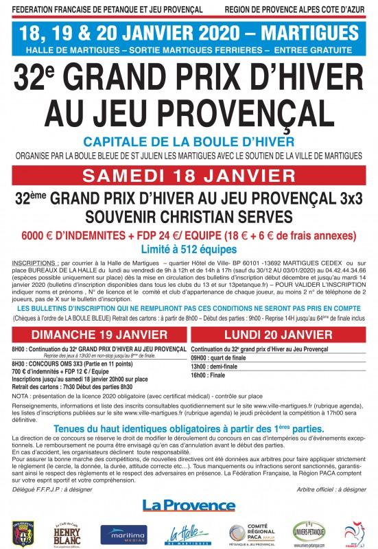Jeu Provençal 2020