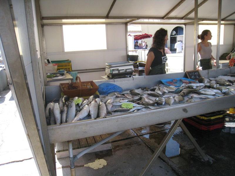 Marché aux poissons à Carro