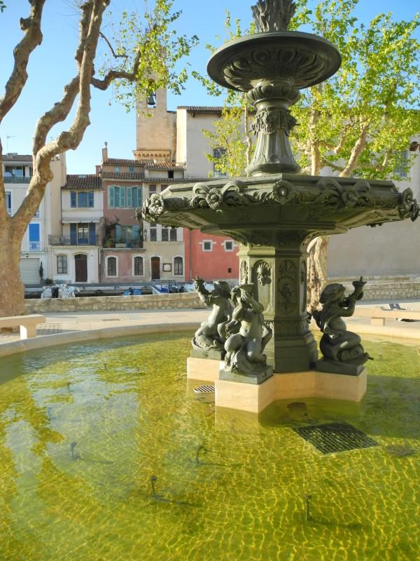 Rand'eau douce dans le centre-ville de Martigues