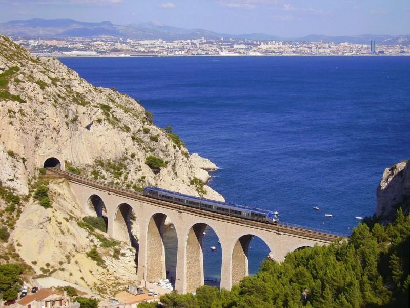 Train of the Blue Coast