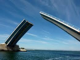 Travaux du pont levant
