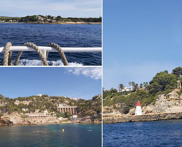 Visite de la Côte Bleue au départ de Martigues