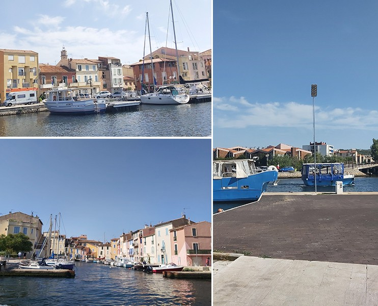 Visit of the canals from Martigues