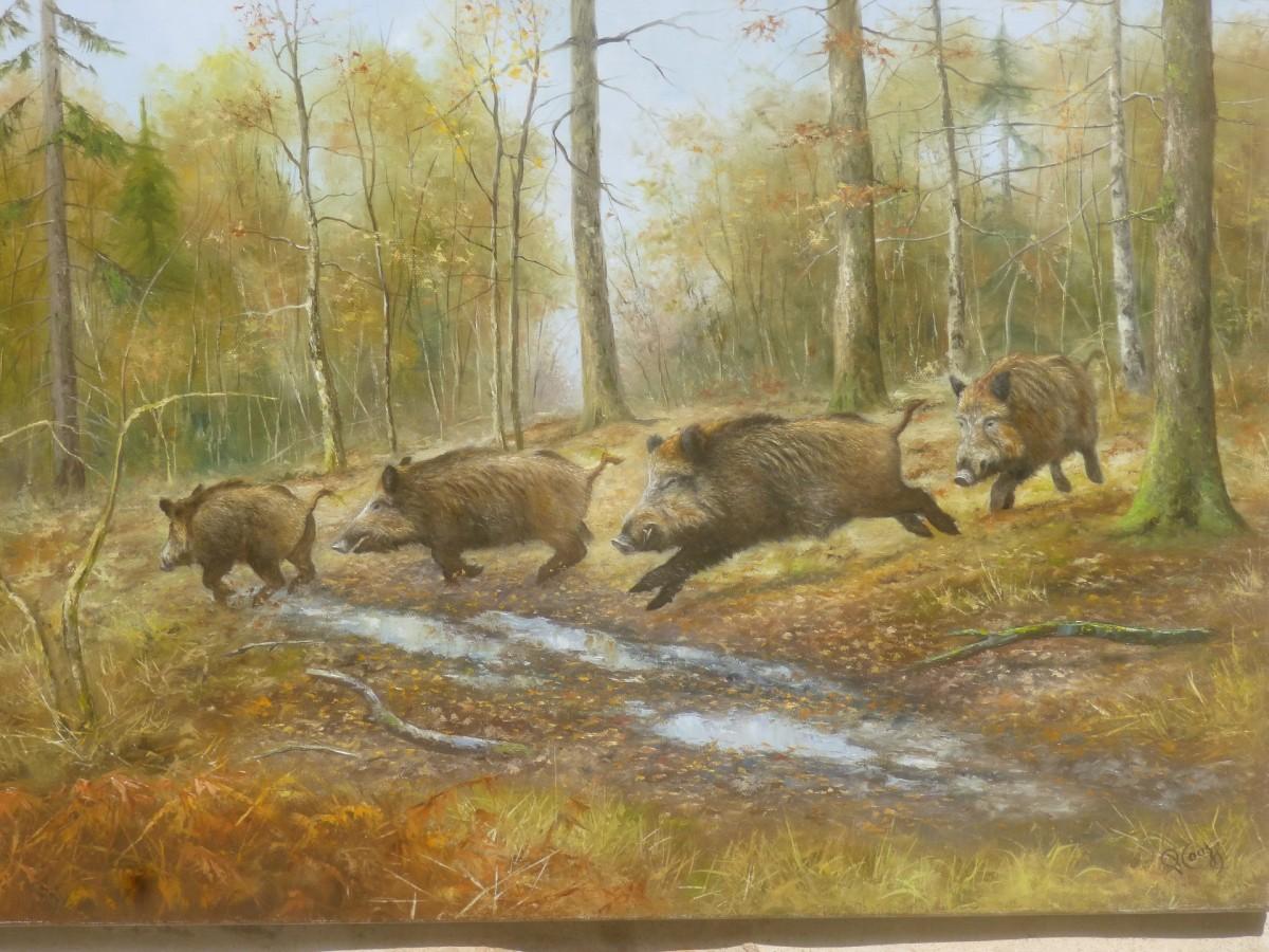 Couzy Pierre - artiste peintre animalier