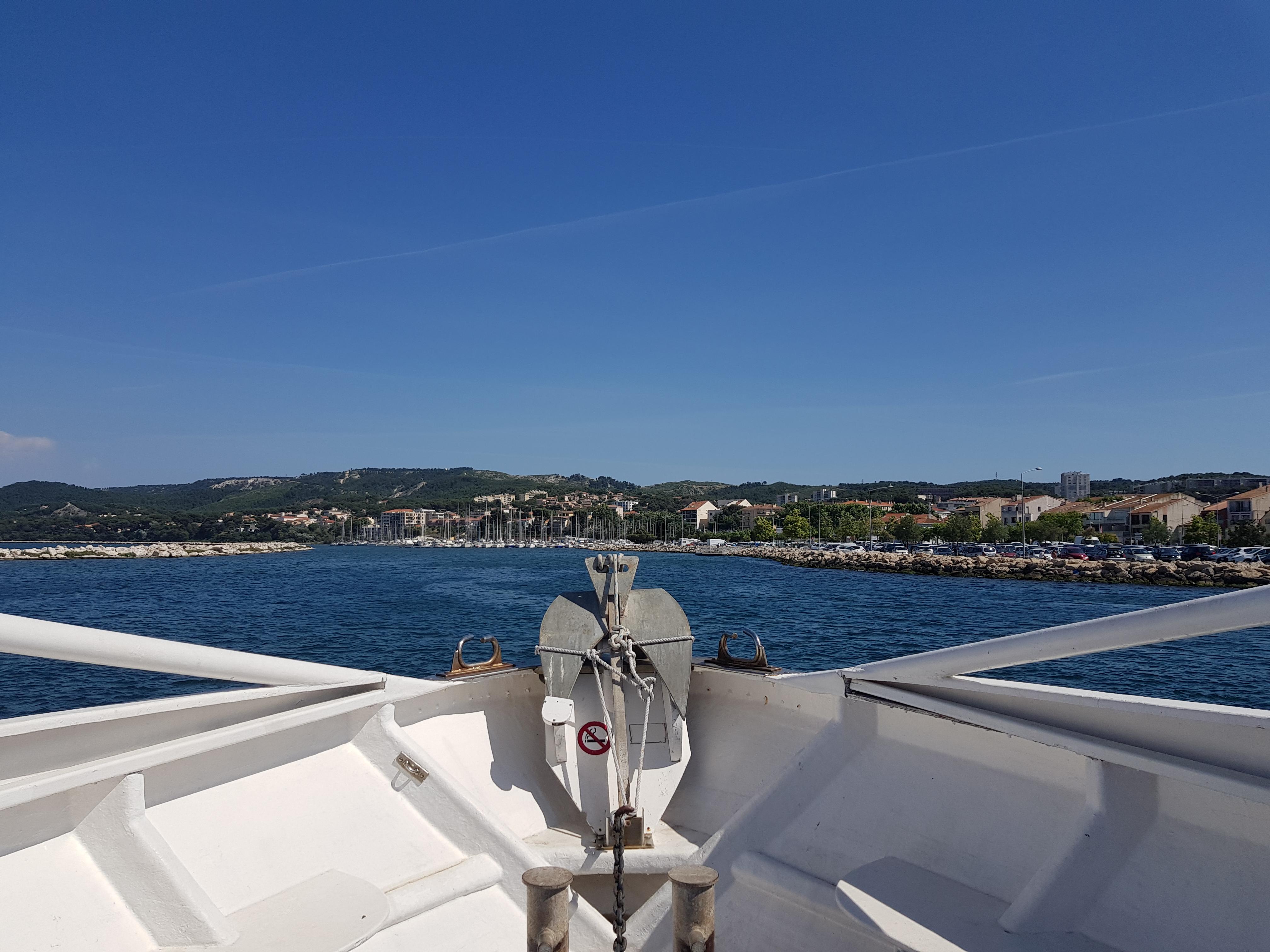 Balade en bateau sur l'étang de Berre ©otmartigues-melindac - © ©otmartigues-melindac