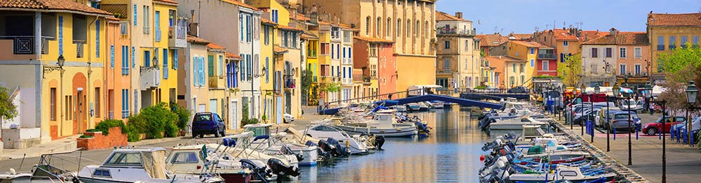 Martigues, district of the Island