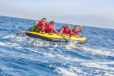 Bouée tractée en mer depuis Carry-le-Rouet