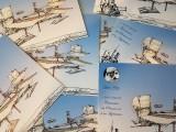 presentation - seaplane postcard