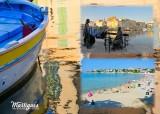 Martigues and its statues postcard