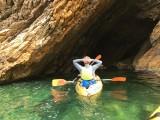 Kayak près des calanques de la Côte Bleue