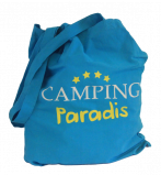 Camping Paradis Stofftasche