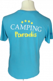 Unisex Camping Paradis T-shirt from back