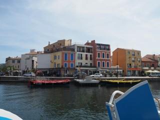 Balade en bateau des canaux de Martigues