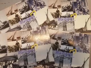 Carte postale Martigues d'antan - Présentation