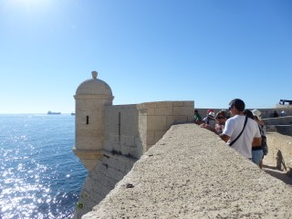 Blick vom Fort de Bouc in Martigues