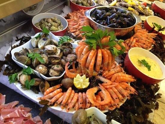Restaurant Ferme marine at Marseillan