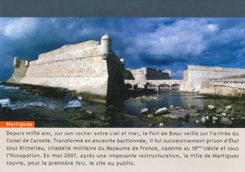 Postcard Fort de Bouc - Stamped
