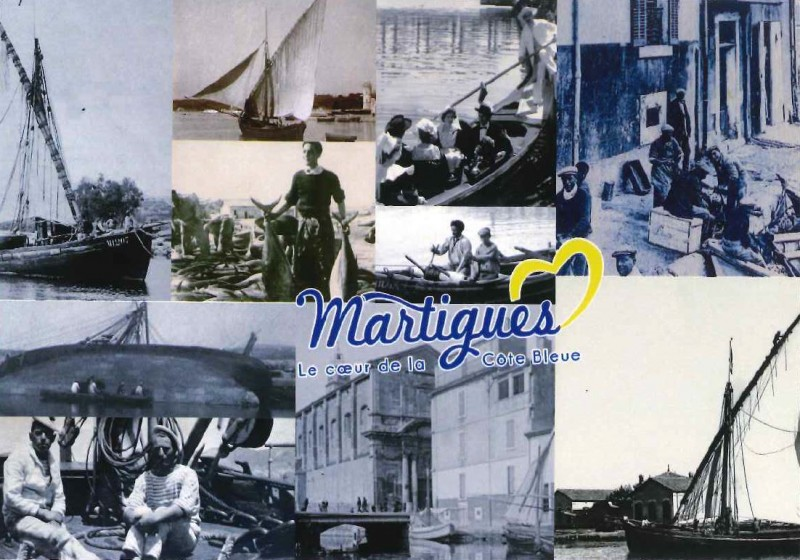 Old Martigues postcard