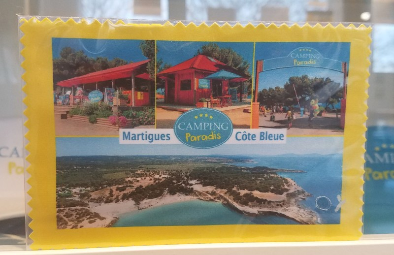 Camping Paradis Sonnentuch