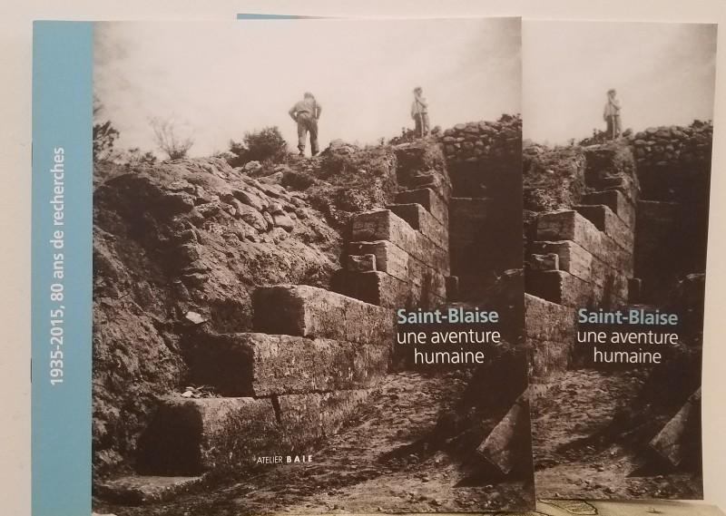 Livre Saint-Blaise, une aventure humaine