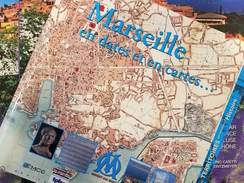 Présentation du livre Marseille en dates et en cartes