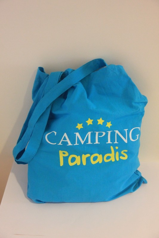 Sac tissu Camping Paradis