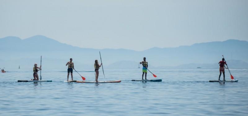 Sortie en mer en stand-up paddle