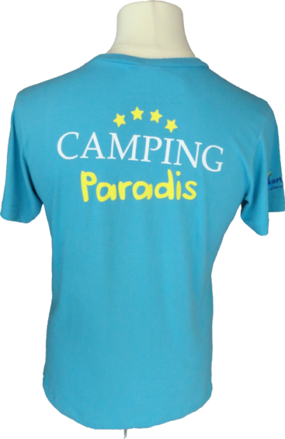 T-shirt for kids Camping Paradis